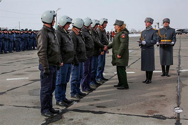 В России вручили медали за Сирию