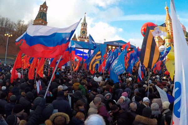 У Кремля собрались 100 тыс. человек