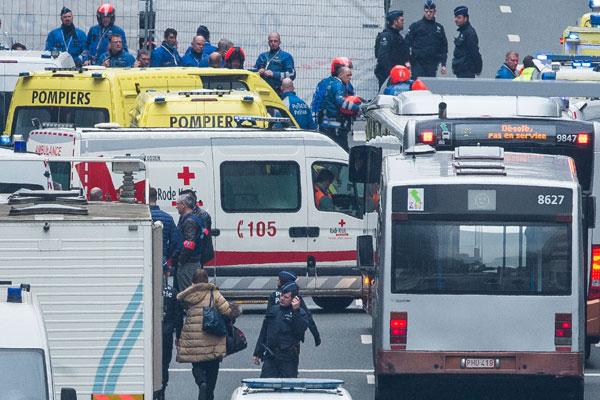 В Брюсселе прогремели новые взрывы