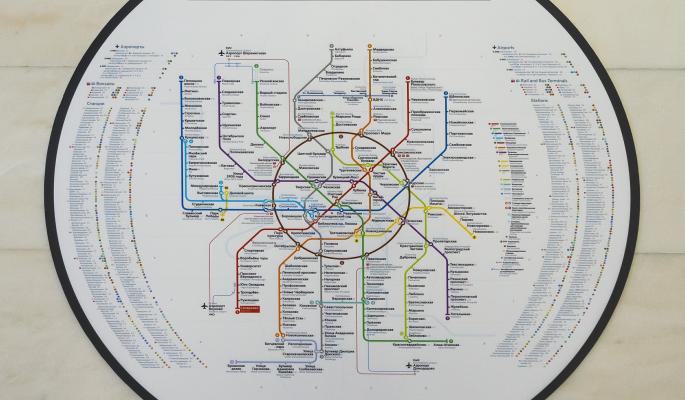 В Сети появилась новая карта метро (фото)