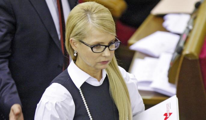 Тимошенко набирает бойцов для переворота на Украине