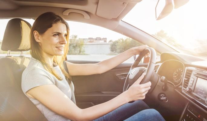 Женщины за рулем хуже чувствуют габариты
