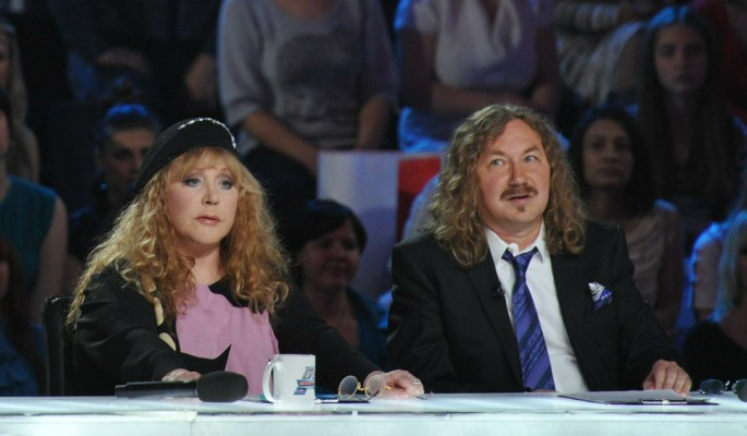 Николаев публично посмеялся над Пугачевой