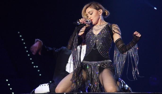 Мадонна встречается с известным актером