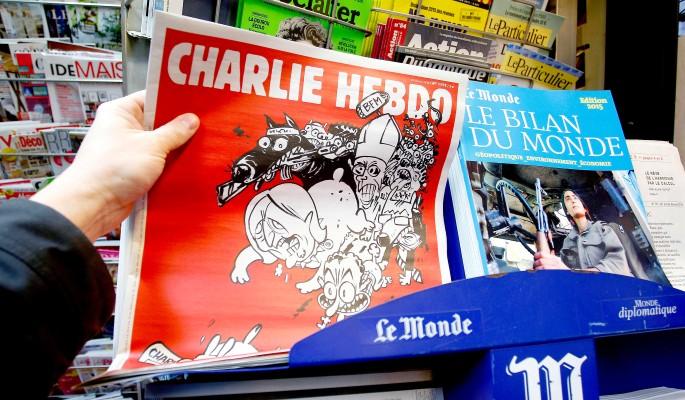 Charlie Hebdo высмеял Обаму в день выборов