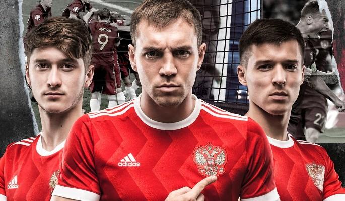 Представлена новая форма сборной России по футболу