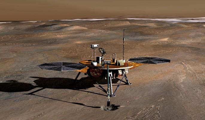 На Марсе обнаружили огромное море