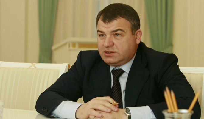 Сердюков сбежал от Васильевой после скандала с дочкой