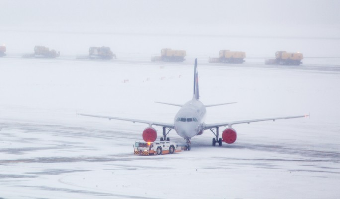 Самолет попал в аварию в Домодедово