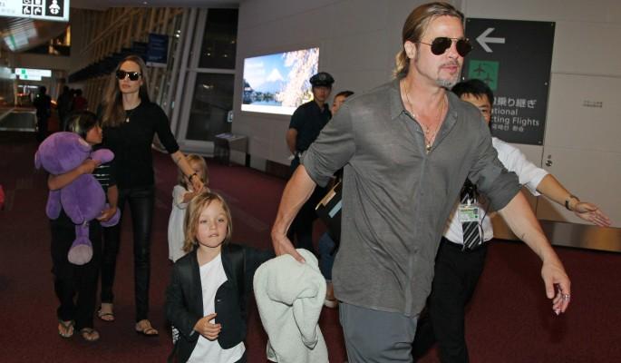 Джоли и Питт могут остаться без детей