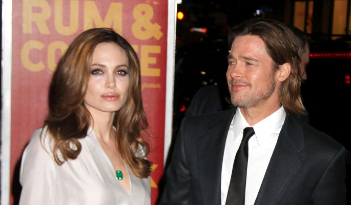 Анджелина Джоли унижает Брэда Питта