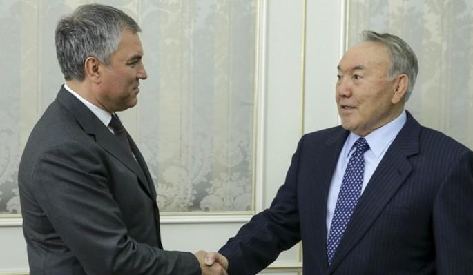 Володин расширяет горизонты сотрудничества России и Казахстана