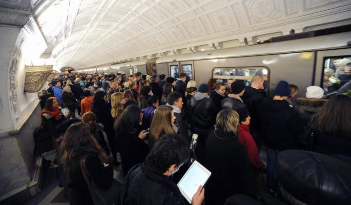 На фиолетовой ветке метро случилось новое ЧП
