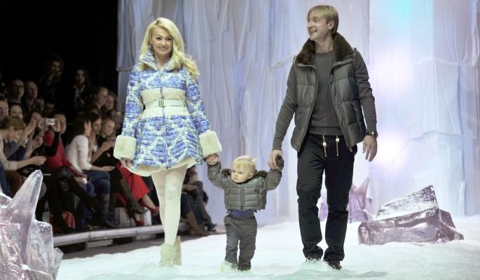 Рудковская закатила скандал из-за сына от Плющенко