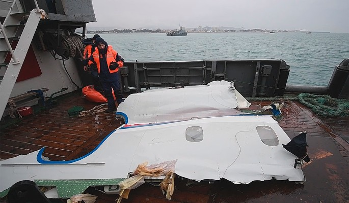 Ту-154 разбился без внешнего воздействия