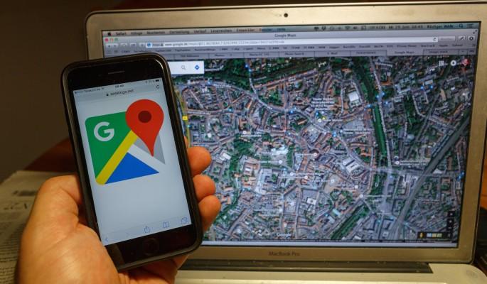 Google Maps нашел здание гестапо в Калининграде