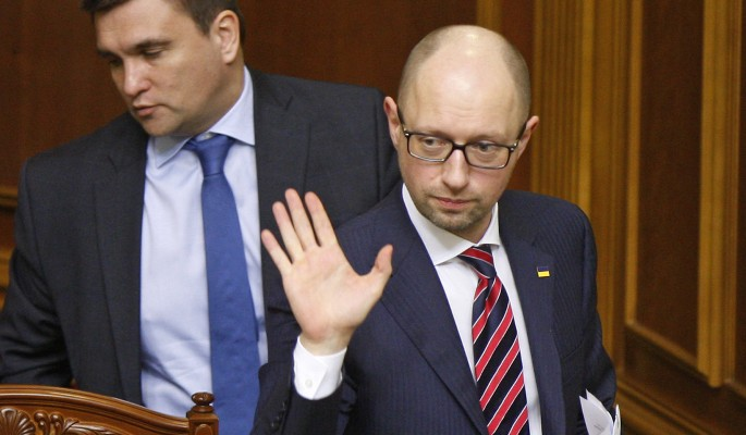 Яценюк впал в истерику из-за слов Ле Пен