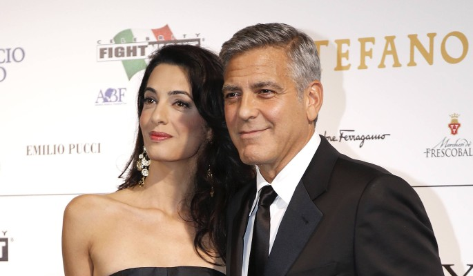 Жена Клуни сделала ЭКО и ждет двойню