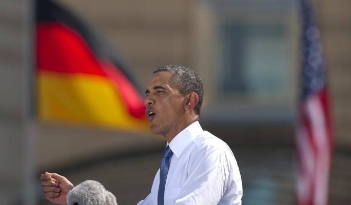 В Берлине попрощались с Обамой