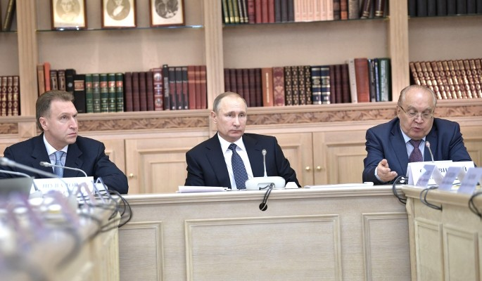 Путин похвастался корочкой плотника