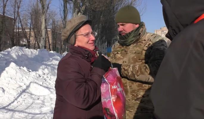 Украинская чиновница притворилась жительницей Авдеевки