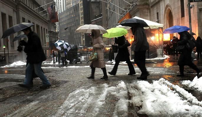 Ледяной дождь устроит битву за Москву