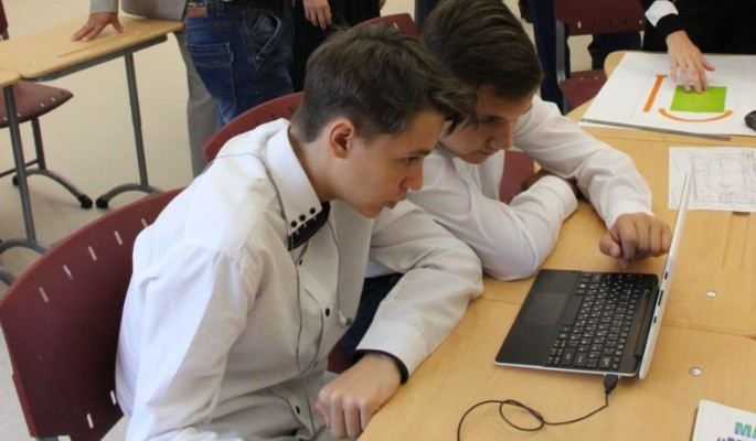 Российские школы превращаются в детские города