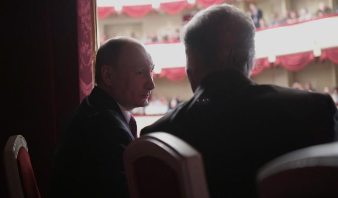 Путин оценил игру актеров Малого театра