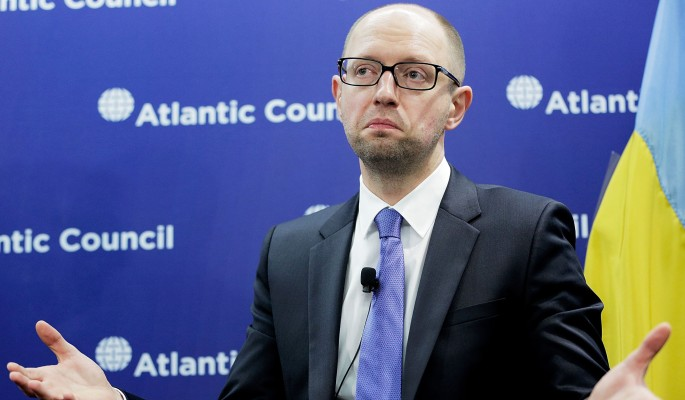 Яценюка взбесил арест в России
