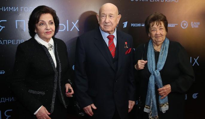 Космонавт Алексей Леонов: У меня теперь две жены