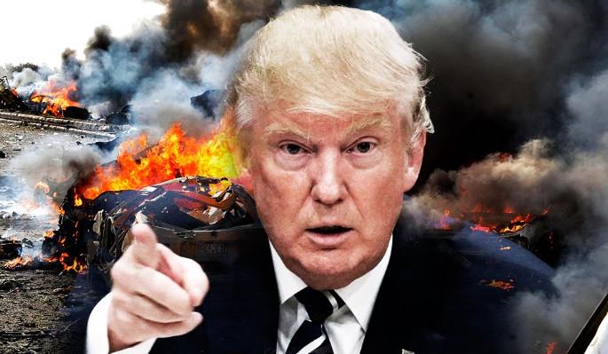 Агрессор Трамп обманул весь мир