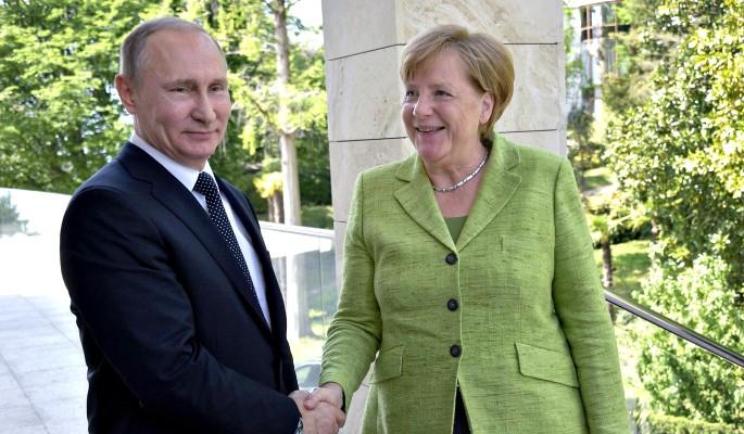 Между Путиным и Меркель заметили мощное напряжение