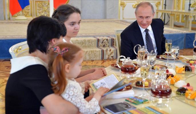 Путин впервые рассказал о внуках