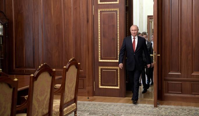 Как выглядит кабинет президента России (видео)