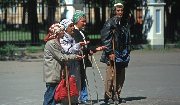 Армия бедных россиян пополнилась на два миллиона