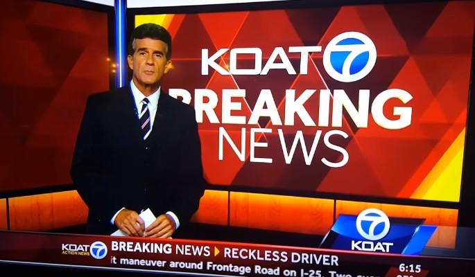 Ведущий новостей устроил истерику в прямом эфире