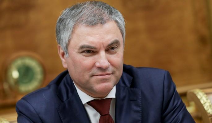 Володин выступил за урегулирование интернет-торговли
