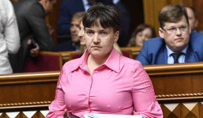 Савченко отказалась от мужчин-животных