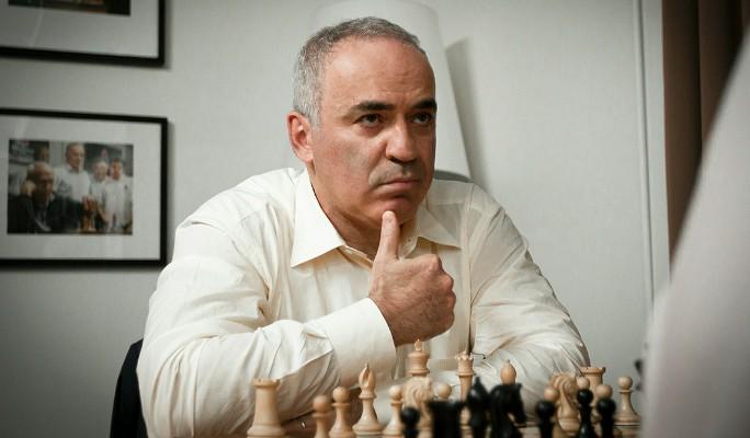 Каспаров получил звонкую пощечину от россиянина