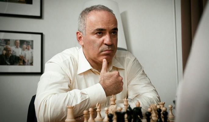 Каспаров натерпелся унижений в США