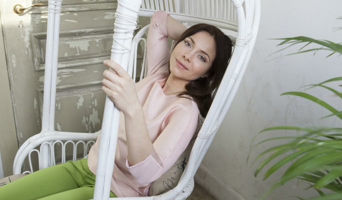 41-летняя Екатерина Гусева в бикини похожа на девочку