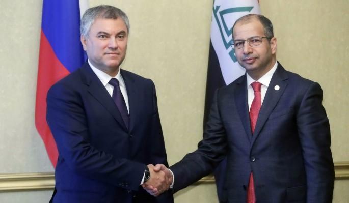 Вячеслав Володин посетит Ирак