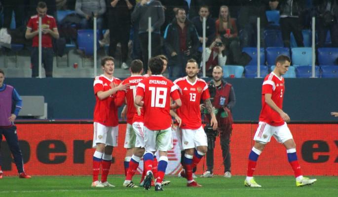 Российские футболисты признаны худшими на ЧМ-2018