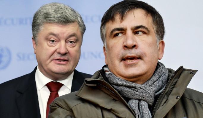 Саакашвили сбросил 30 килограммов из-за травли Порошенко