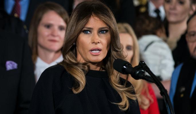 Меланья Трамп отказалась спать с мужем-изменщиком