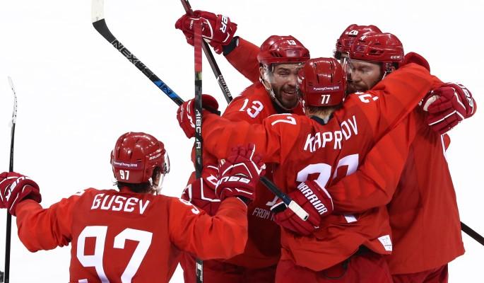 Российские хоккеисты чудом выиграли в финале Олимпиады