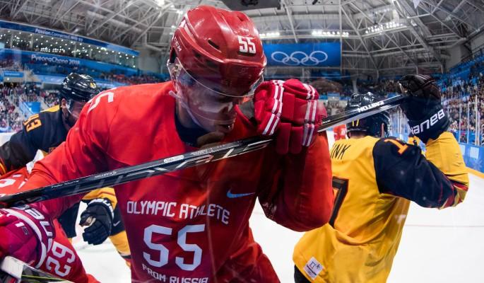 МОК определился с наказанием России за спетый хоккеистами гимн