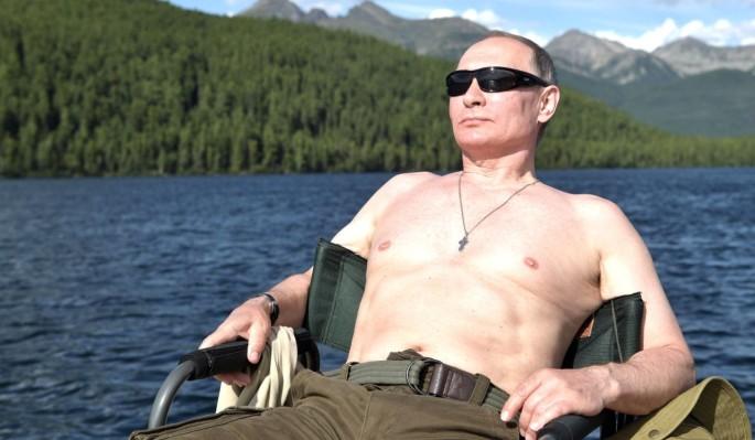 Сексуальная блондинка разоткровенничалась о Путине
