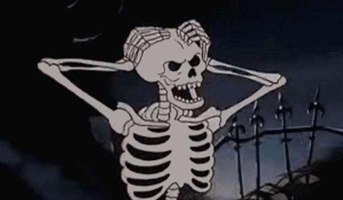 К чему снится скелет