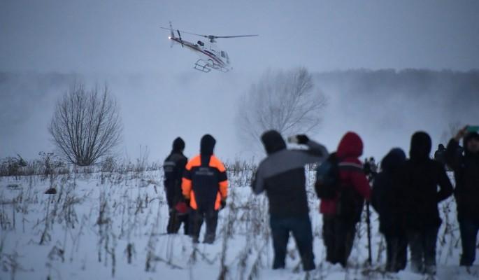 Пристыженное МЧС ринулось искать забытые куски тел на месте крушения Ан-148